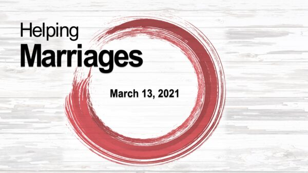 Session 4 - The Key To A Good Marriage Image